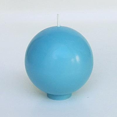 Bougie ronde Bleu