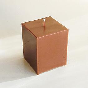 Bougie Cube Caramel