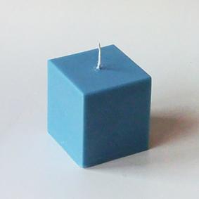 bougies v g tales de couleur bleu lagon 7 formats au choix. Black Bedroom Furniture Sets. Home Design Ideas