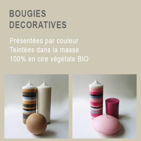 Bougie decoratives 1