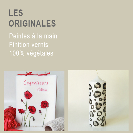 Bougie originales 1