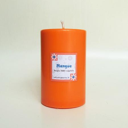 Bougie pilier mangue 5