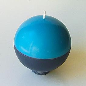 Bicolore bleu/gris