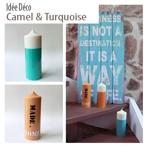 Decoration turquoise caramel2