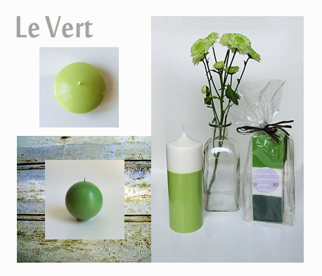 Decoration vert