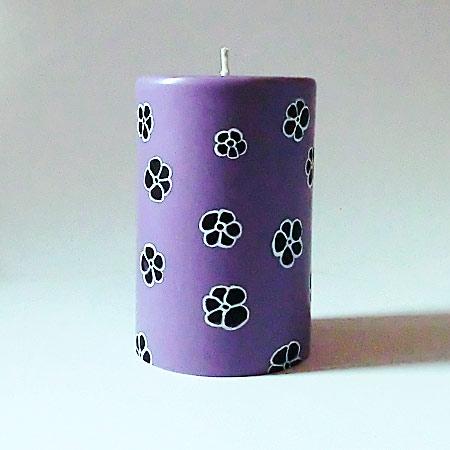 Fleur violetw