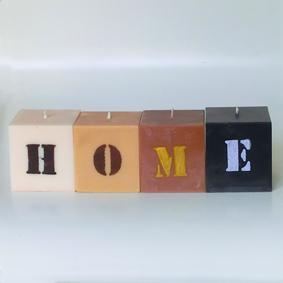 "Bougies ""HOME"""