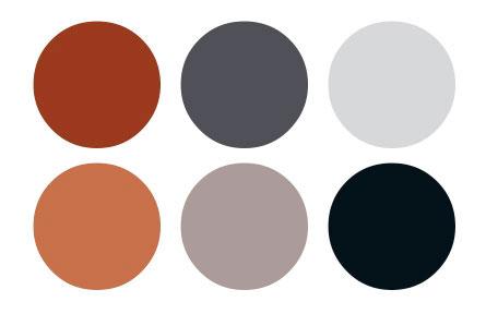 Palette gris web