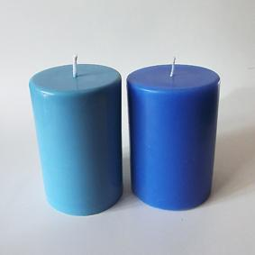 Duo bleu