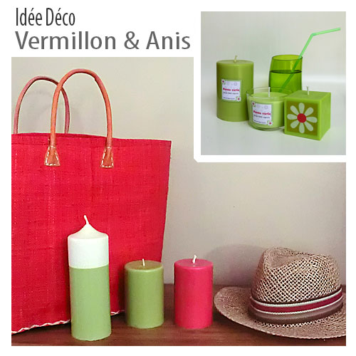 Presentation rouge anis