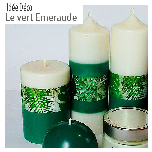 Presentation vert emeraude