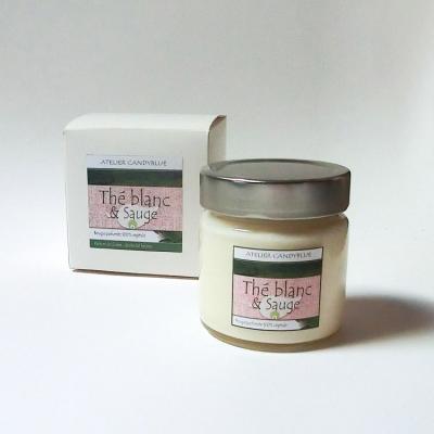 Thé blanc et sauge