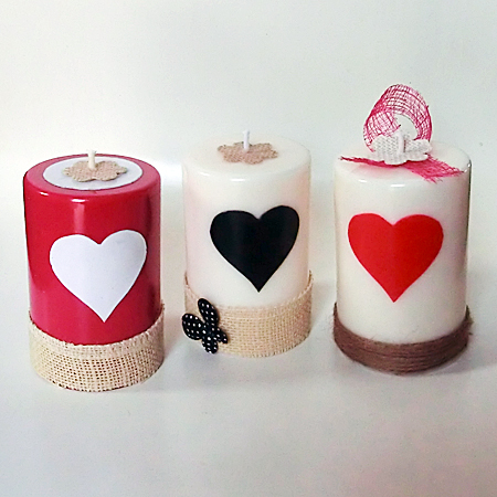 Trio pilier coeur