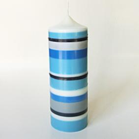 Bayadère camaieu de bleu