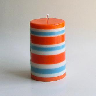 Bayadere orange bleu2