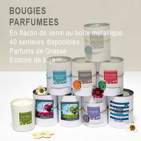 Bougie parfumees4w 1