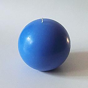 Boule bleu 3