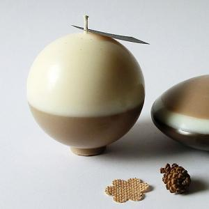 Boule lin marronglacew