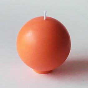 Bougie ronde Orange
