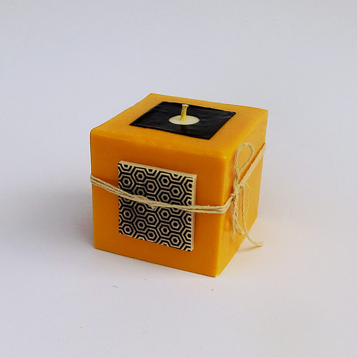 Cube moutarde 1