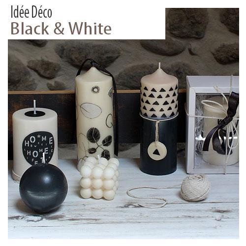 Decoration black & white