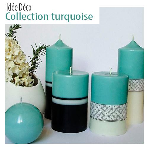 Decoration turquoisew