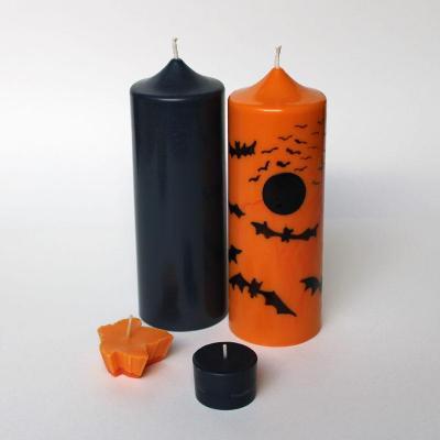 Duo de bougies piliers
