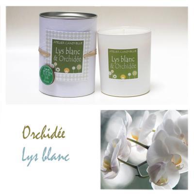 Lys et orchidée