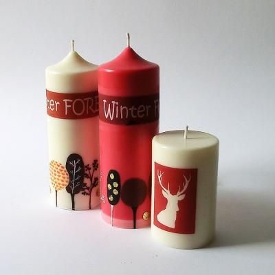 Bougies Winterforest